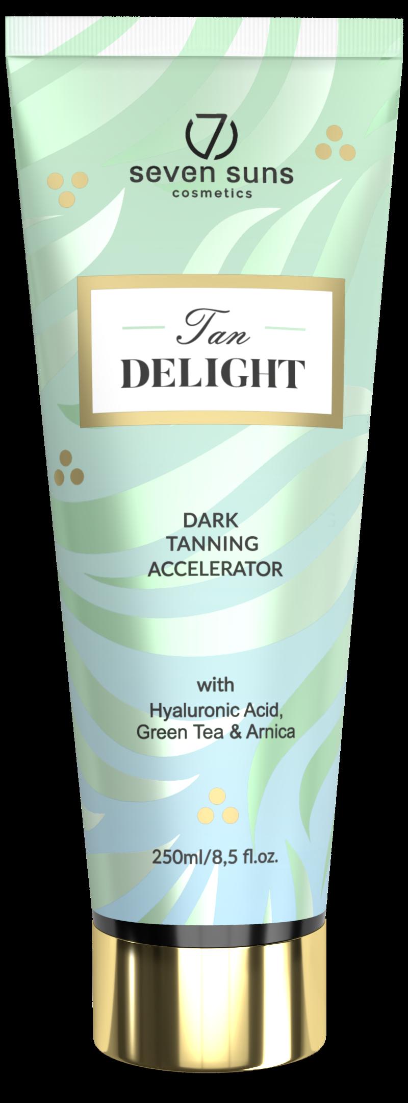 Tan Delight tanning accelerator tube