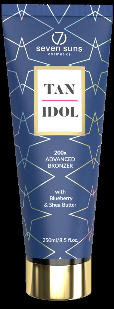 Tan Idol bronzer tube