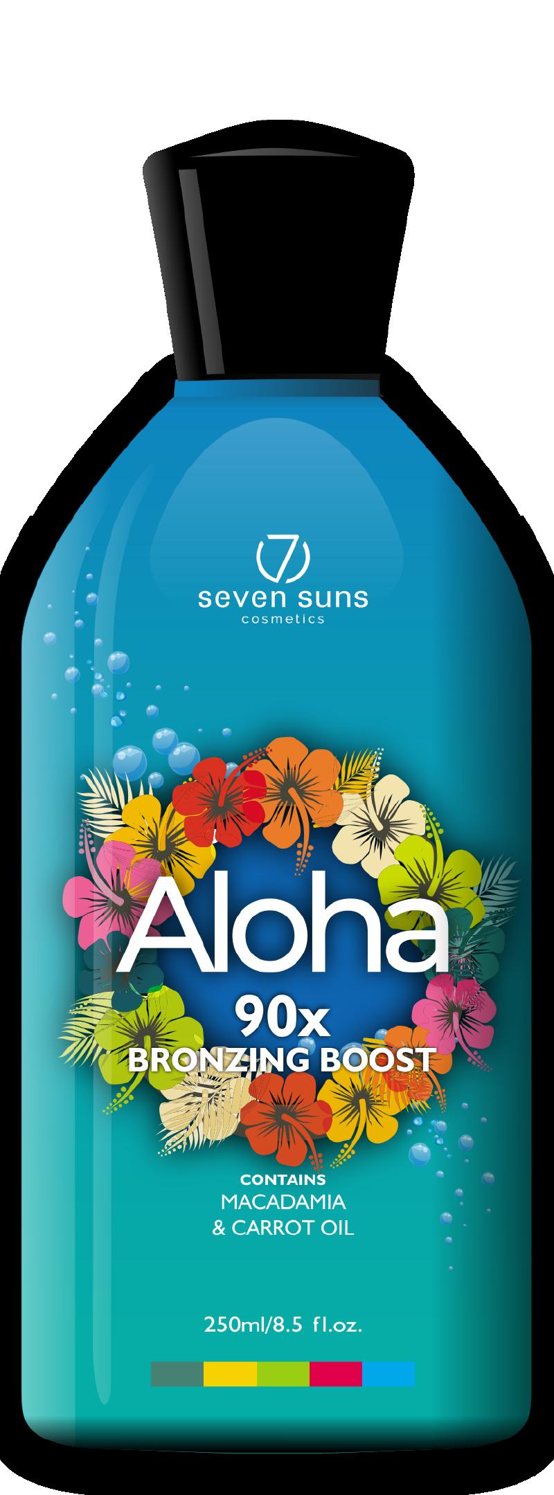 Aloha cosmetic bottle