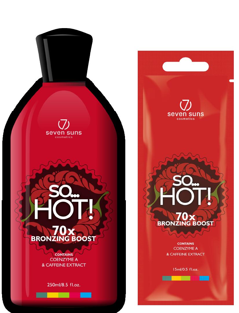 So... Hot bottle and sachet tingle bronzer