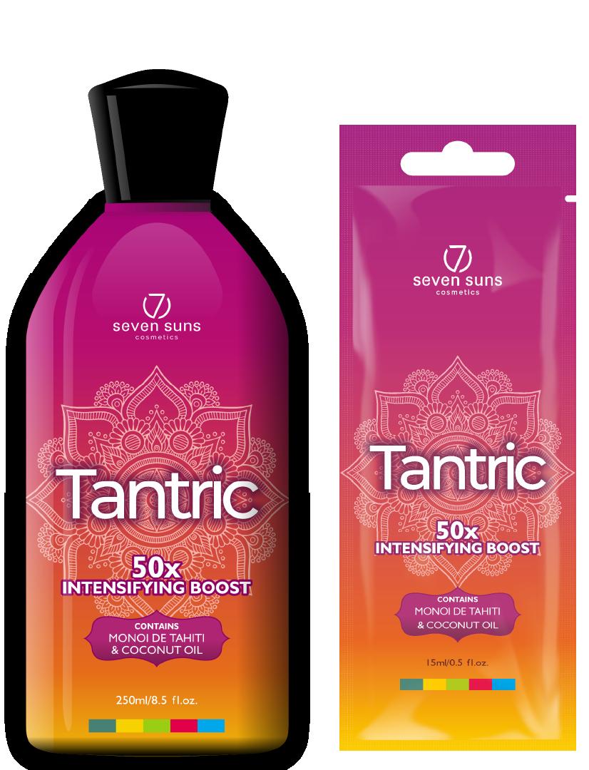 Tantric bottle and sachet