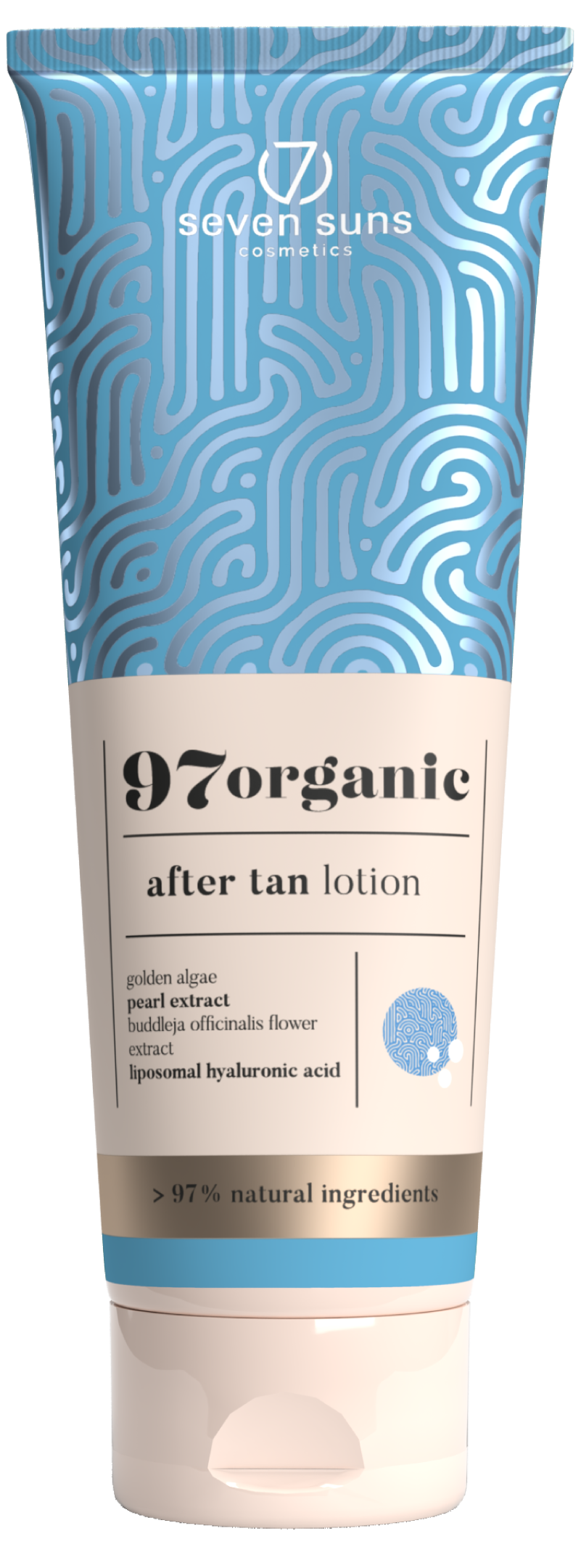 97organic After Tan Lotion