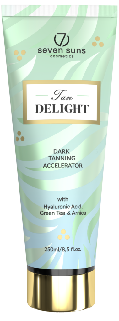 Tan Delight tanning accelerator tube