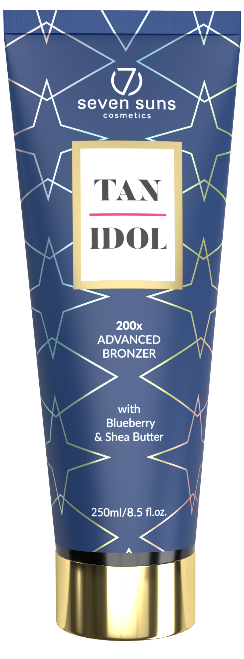 Tan Idol bronzer tube