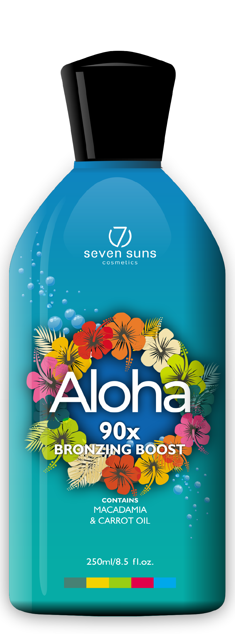 Aloha cosmetic bottle
