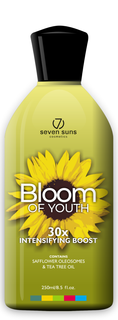 Bloom of Youth cosmetic bottle