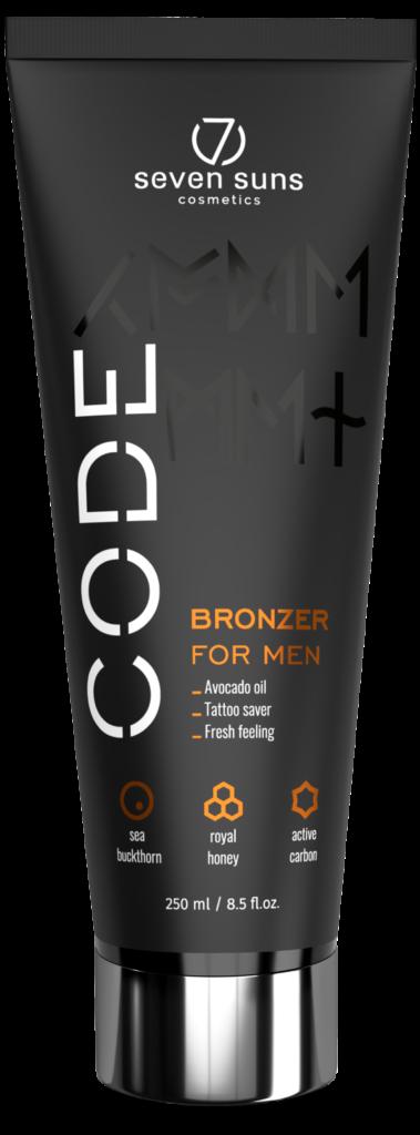 CODE Bronzer cosmetic tube
