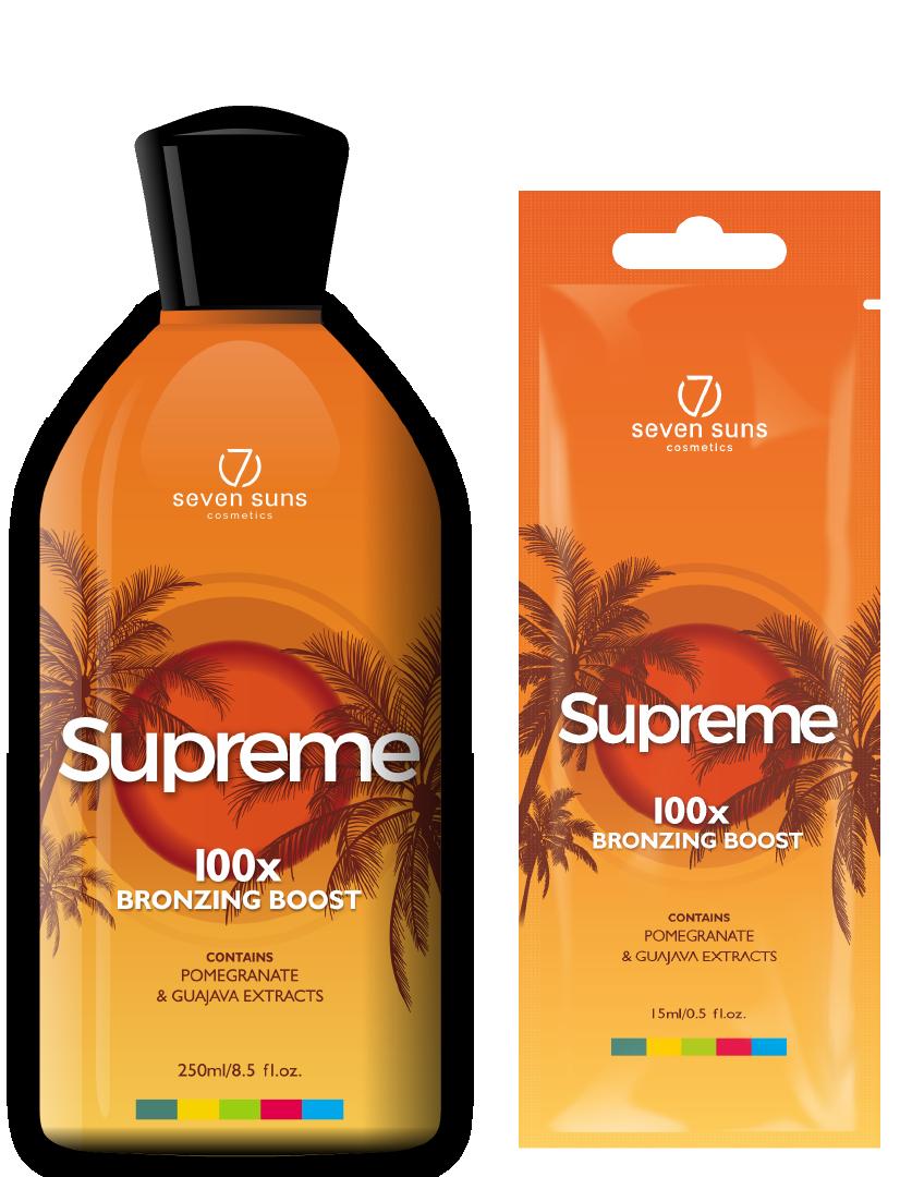 Supreme bottle and sachet