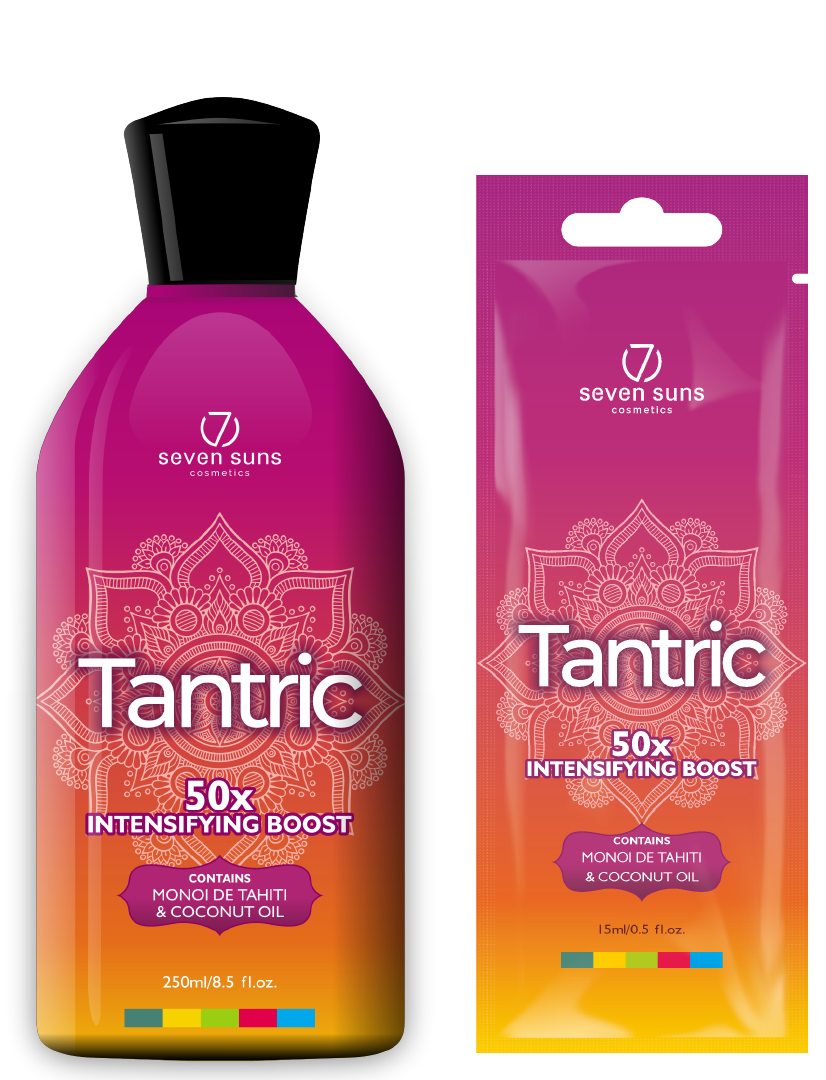 Tantric bottle and sachet